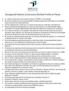 Ventajas del Sistema Constructivo Modular Prefab en Planta