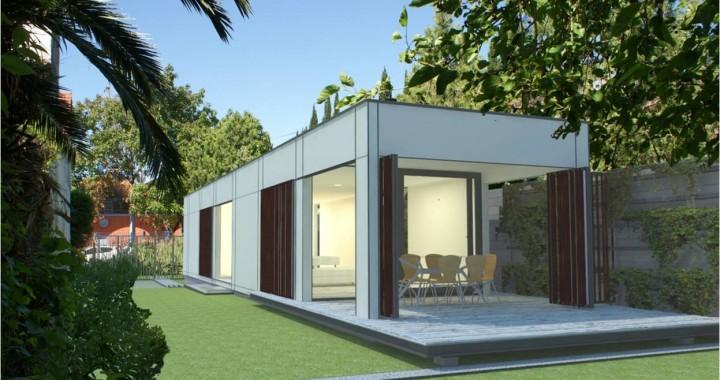 Casa modular prefab